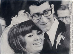 Gary Lewis and new wife March 11 1967